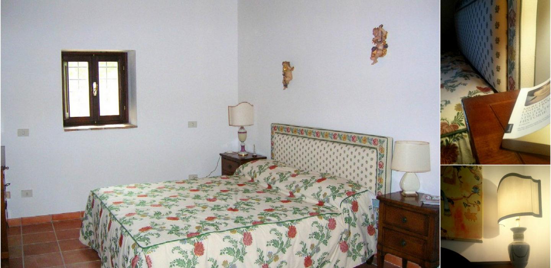 Casale Le Querce Antiche_la camera matrimoniale